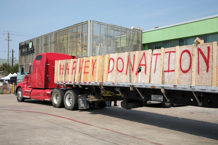 Hurricane Harvey donations